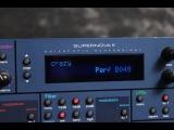Novation Supernova 2 demo Arpeggiator's
