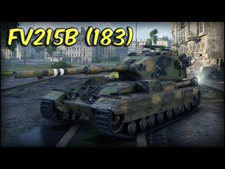 World of Tanks | FV215b (183) - 11K Damage - 6 Kills - Paris