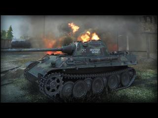 World of Tanks | Panther - 10 Kills - 4.5K Damage - Ensk