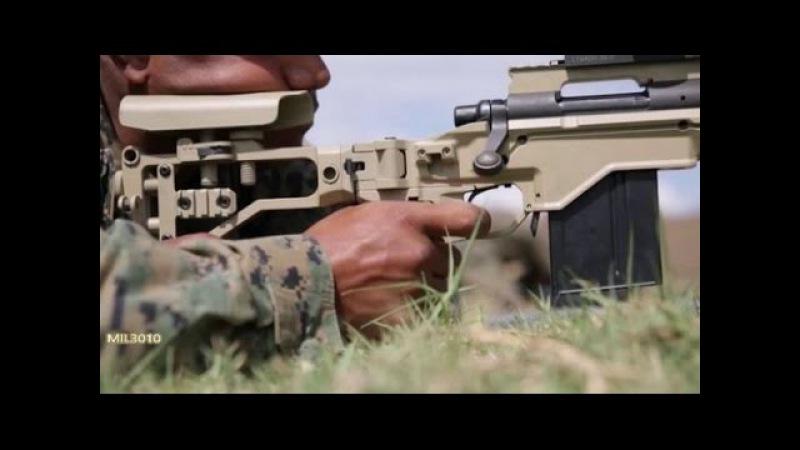 Снайперская винтовка Remington MSR / Морпехи США в Грузии