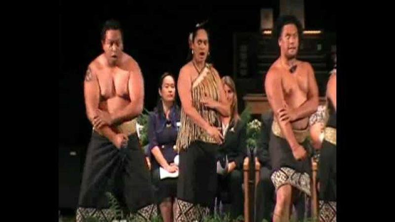 Maori Haka (pā paki titaha)