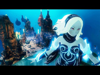 Gravity Rush 2 New 35 Minutes of Gameplay (PS4 / PS4 PRO 2017) Gravity Daze 2