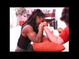 FBB 041 Racquel vs Paul | Mixed Armwrestling | Female Muscle Show