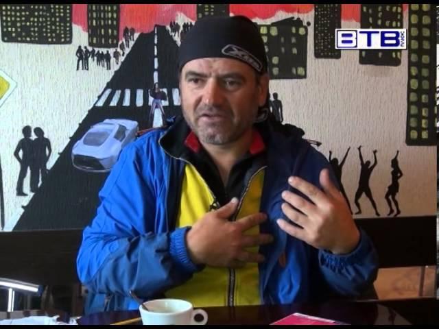 Румунський велотурист Антон Думи