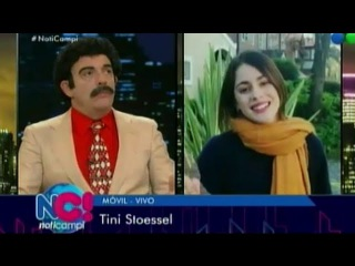 TINI Stoessel: La chica intriga en NotiCampi #TiniEnNotiCampi