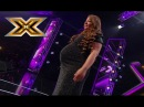 Pregnant woman sings Whitney Houston «I have nothing». The X Factor - TOP 100