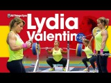 Lydia Valentin Training Hall at 2017 Europeans Power Snatch, Power Clean, Back Squats