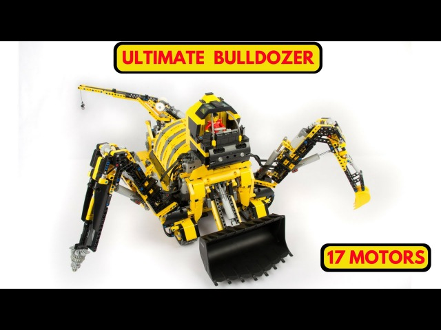 The Terraformer 17 PF motors 5 SBricks huge lego technic MOC