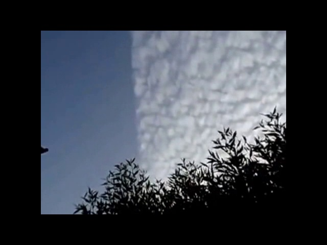 HAARP Splitting The Clouds In Broad Daylight - Caught Red Handed