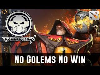 No Golems No Win | EHOME vs Execration TI6