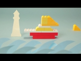 LEGO® DUPLO®: строим парусник
