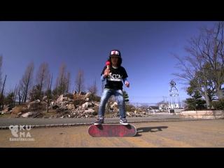 Трюкачи. Невероятные трюки на скейте от 12-летнего мальчика