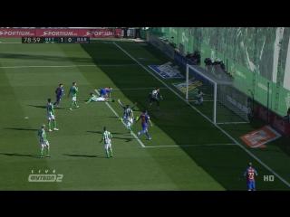 Бетис - Барселона. Незасчитанный гол