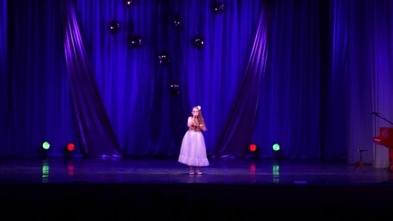 Марфа Николаева Нарисую тебе звезды Отчетный концерт 14.04.17 Гимназия № 2 Великий Новгород 4 Г класс