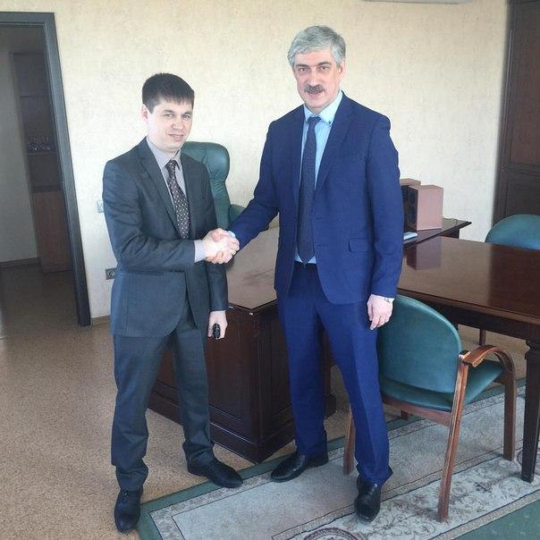 Шамиль Садыков - слева и Леонид Толчинский