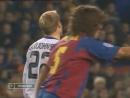 ЛЧ 2004 05 1 8 финала Первый матч Барселона Челси 2 1