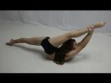 Lila, contortion, flexible girl