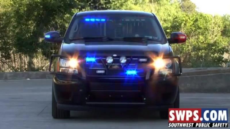 2008 Chevrolet Tahoe Police K-9 SWPS - KV08TAHOE