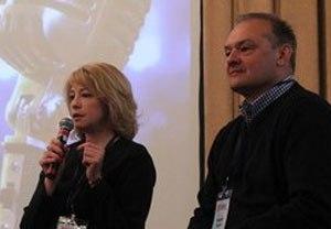 Инна Карпушина и Андрей Радин