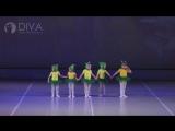 Детские танцы 3-4 года, хореограф Татьяна Егорова от DIVA Studio