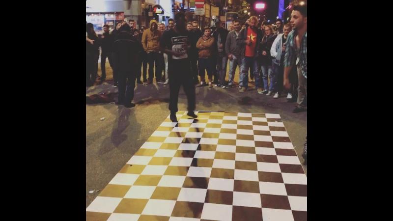 Уличные танцы в Брюсселе 1