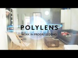 Polylens AR headset (Google Cardboard for AR)