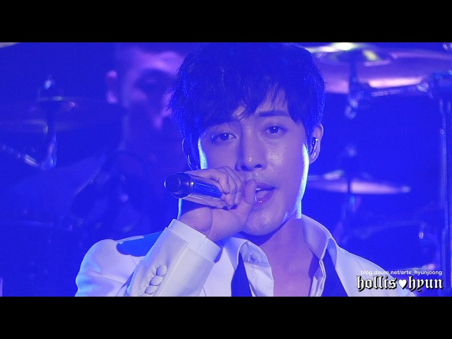 170429 Kim Hyun Joong 김현중 - Let me be the one(rock ver.)@anemone fanmeeting