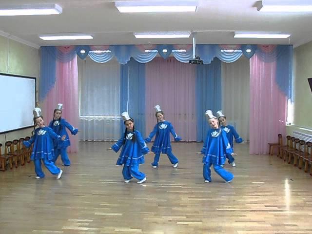 татарский танец (номинация хореография, первые шаги)