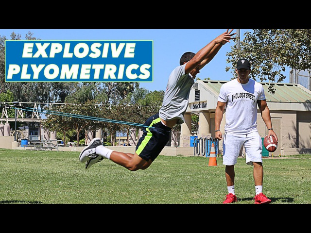 Explosive Outdoor Plyometric Workout | Become An Athlete | The Lost Breed