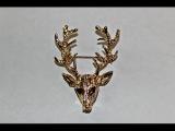 Товар с Aliexpress - брошь на пиджак олень  Goods Aliexpress - deer brooch on a jacket