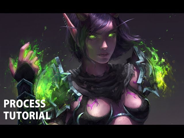 Akealor | Painting Process w/Commentary