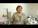 Юбка из бархата для женщин с узкими бедрами Учимся работать с бархатом Технология сборки юбки Часть4