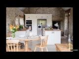 Белая кухня с деревянной столешницей: 70 лучших реализаций