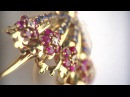 Ballerina clips by Van Cleef Arpels from The Spirit of Beauty exhibition