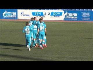Зенит-2 - Домодедово - 3:2. Красивый гол Артёма Попова
