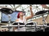 Tim Ivanov feat. DJ Smash. Performing at NAMM Musikmesse Russia 2012