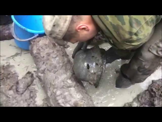 Немецкий блиндаж ВРЕМЕН ВОВ (Отличный сохран!)