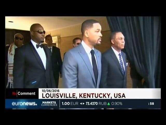 Тайсон,Льюис,Уилл Смит на похоронах Мухаммеда Али/Tyson, Lewis,Will Smith | Muhammad Ali Funeral