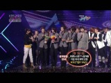 100129 CNBLUE first win on Music Bank ~ 15 days after debut