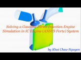 TUTORIAL 13: Solving a Gasoline Direct Injection Engine Simulation in IC Engine (ANSYS Forte) System