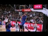 Domantas Sabonis POSTER on David Lee | 01.30.17 #NBANews #NBA