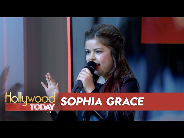 Sophia Grace Performs 'Girl In The Mirror' Live!
