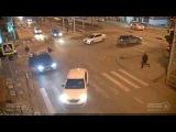 ДТП на ул  Ставропольская и ул  Таманская 24 02 2017