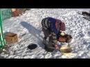 Жвачка из бересты.Мастер из села Каримово, Бижбулякский район. 16 11 2016