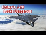 China's J-20 Looks Dangerous - But Can It Crush U.S. F-22 Raptor