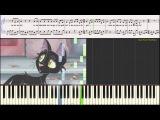 Чёрный кот (Ноты для фортепиано) (piano cover)