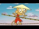 Добрые поучительные мультики для детей от 5 лет Летающие звери - Путешествия - Высота Китай