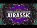Megalodon Midnight Tyrannosaurus - Jurassic