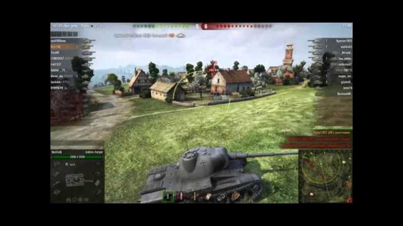 Worlf Of Tanks Индеец Врывался как Мог 10 Фрагов на Indien-Panzer
