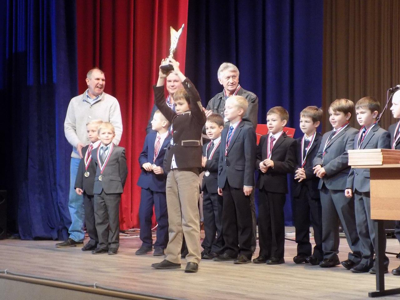 Победители и призеры Первенства города среди детей получили призы